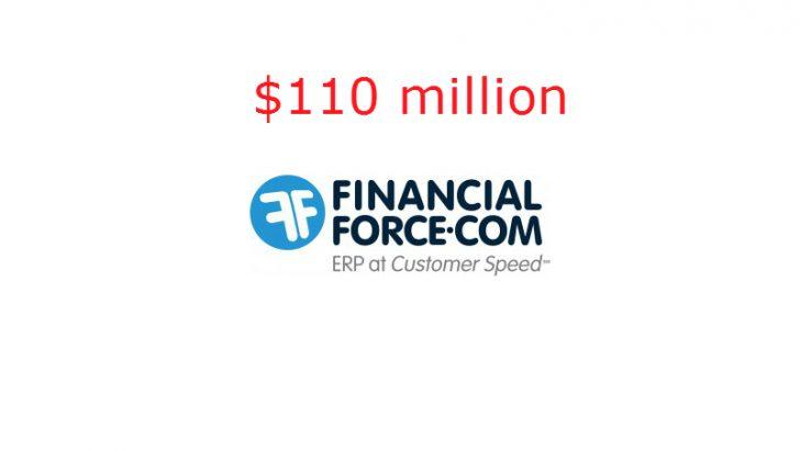 Salesforce help FinancialForce raise $110 Million in funding -