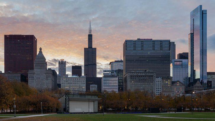 Chicago Skyline (c) Poco a poco