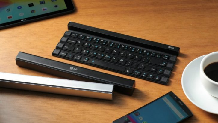 LG Rolly Keyboard (Source LG )
