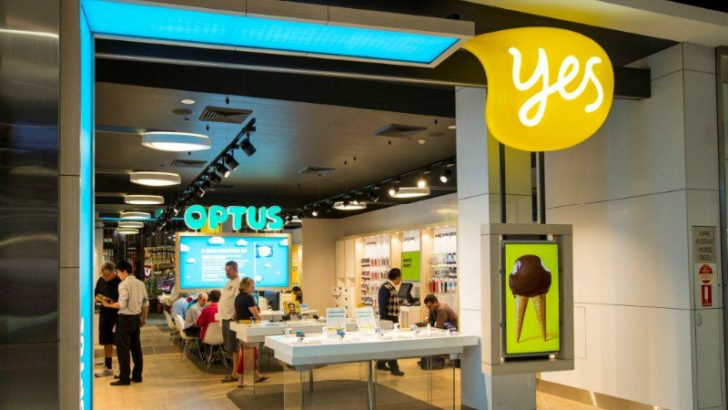 Optus retail Store