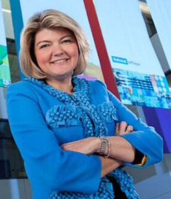 Sandy Carter, General Manager, IBM Ecosystems and Social Business Evangelism at IBM