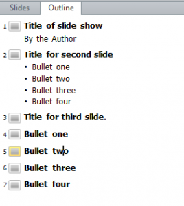 Tips - Powerpoint Bullets 4