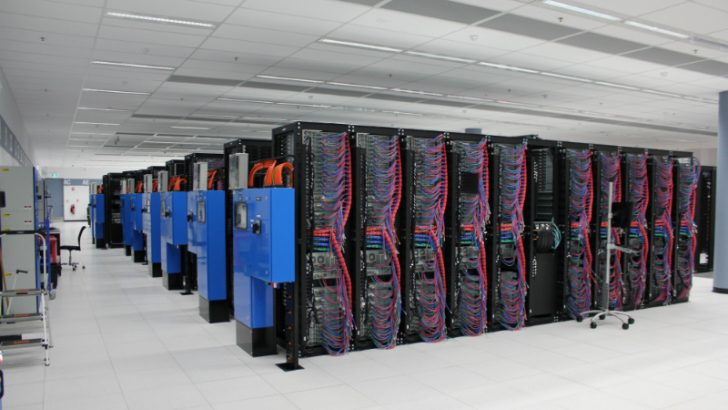 IBM Data Center Softlayer Servers in Sao Paolo (Image Source IBM)