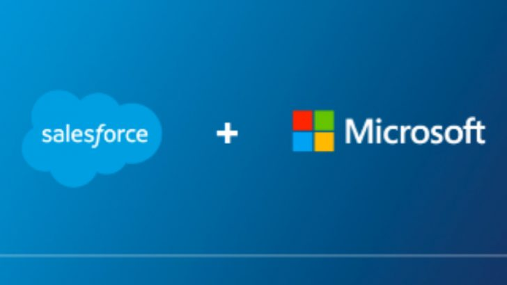Salesforce and Microsoft (Source Salesforce)
