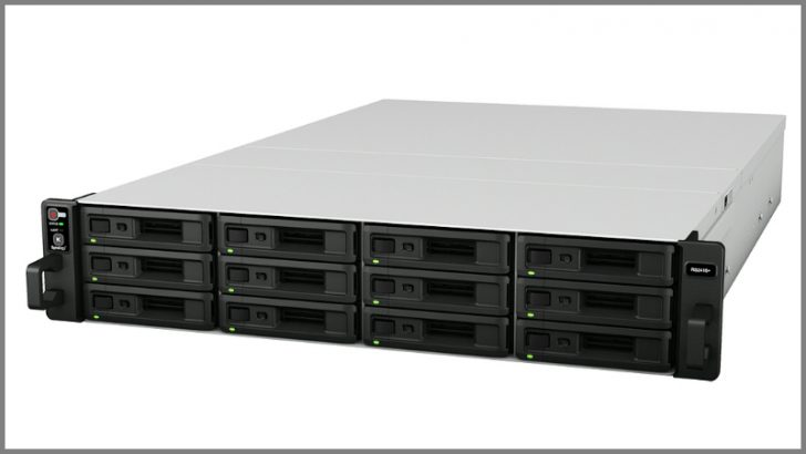 Synology NAS device RS2416+ (Source Synology)
