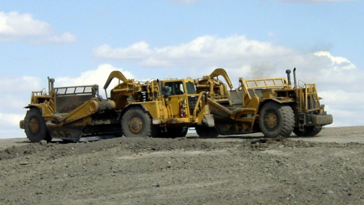 Mining Equipment, Image credit Freeimages.com/swm