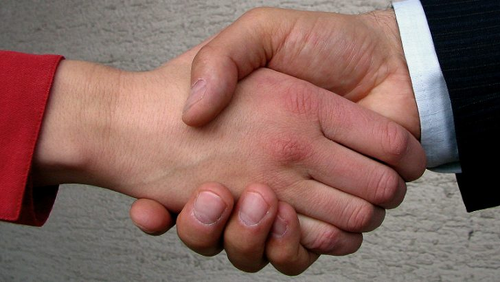 Meteorix to be acquired by IBM Shaking Hands Image Credit: Freeimages.com/Aleš Čerin
