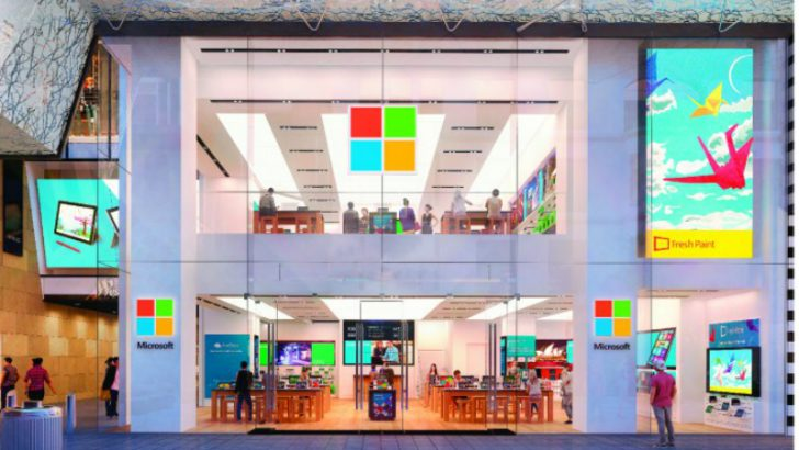 Microsoft Flagship Store Sydney (Source Microsoft)