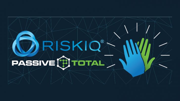 RiskIQ and PassiveTotal (source RiskIQ)