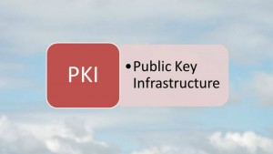 Definition of PKI - Public Key Infrastructure (Source S.Brooks (c) 2015)