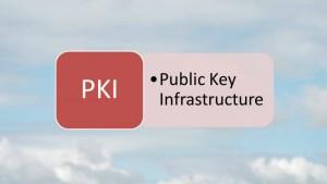 Definition of PKI - Public Key Infrastructure (Source S.Brooks (c) 2015)
