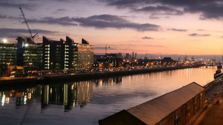 Sunrise in Dublin for new Workday Office (Image credit Freeimages.com/Maxi Mcdonnell