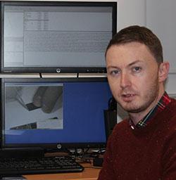 Gareth Davies, Computer Forensics lecturer, USW