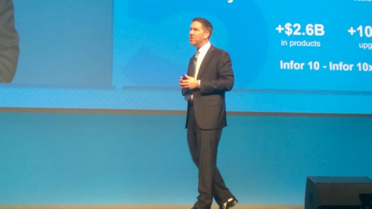 InforumEU 2015 (Stephan Scholl in Keynote) - Credit S Brooks)