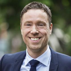 Fredrik Tumegård CEO of Net Insight (source : LinkedIn)