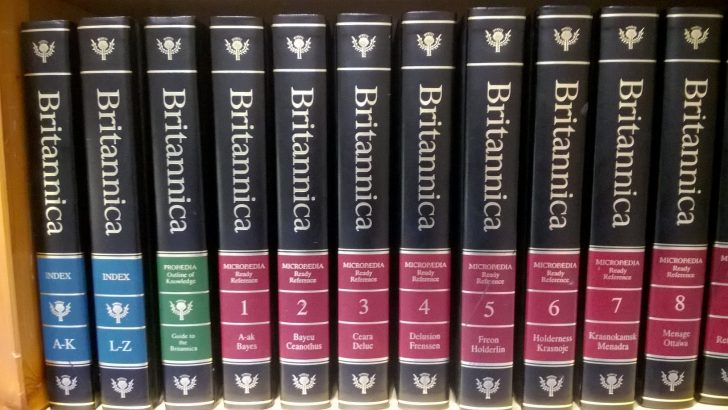 Encyclopaedia Britannica went Digital with the help of Salesforce Image: (c) S Brooks 2015