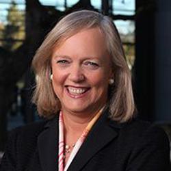 Meg Whitman, President and CEO, Hewlett Packard Enterprise