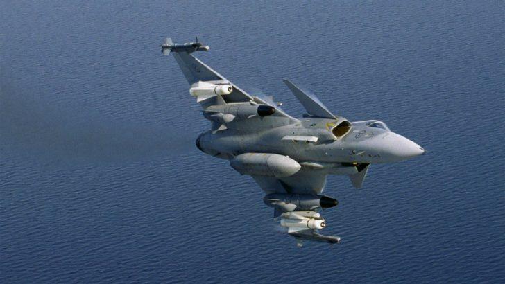 Saab Gripen multi role fighter (C) SaaB AB, Image credit Peter Liander 2014