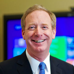 Brad Smith President and Chief Legal Officer at Microsoft (Image Source : Microsoft)