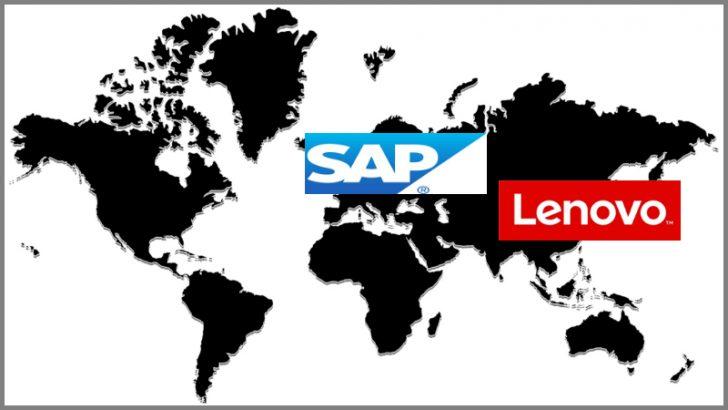 Lenovo and SAP renew and extend global alliance (Image Source Mpa: FreeImages.com/Bensik Imeri, Logo: SAP and Lenovo