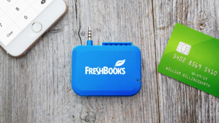 Fresh Books Card Reader (Image Credit FreshBooks)
