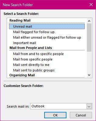Search Folders 2