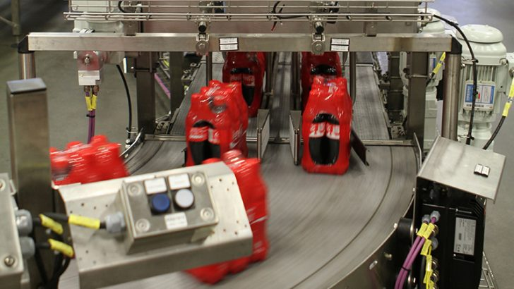Coca Cola Norway Production Line