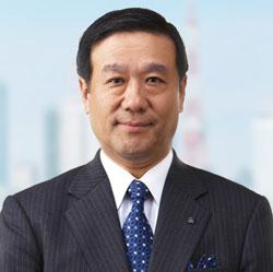 Toshio Iwamoto, President and CEO of NTT DATA Corporation