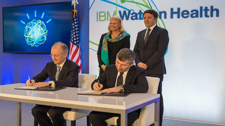IBM Signs Agreement with Italian Government on First-of-its-Kind Watson Health Center of Excellence in Italy