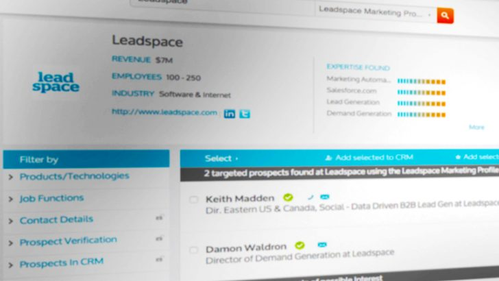 Leadspace announced Virtual Data Management Platform