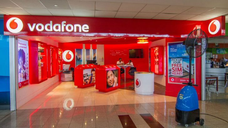 Vodafone local store. Image credit Maksym Kozlenko, 10 May 2014