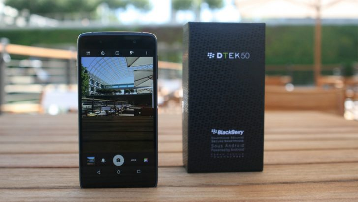 Android made secure with BlackBerry DTEK50 -