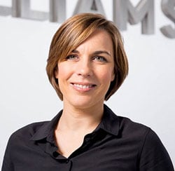 Claire Williams, Deputy Team Principal and Commercial Director, Williams
