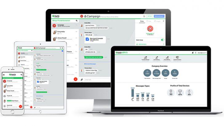Nuro launches Nuro Enterprise II app for corporate messaging