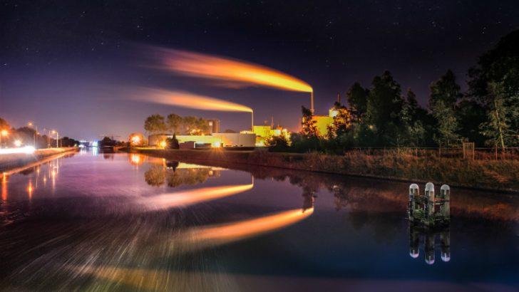 Factory (Image Credit: Pixabay/SkitterPhoto - https://pixabay.com/en/factory-night-long-exposure-1509853/)