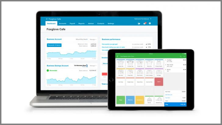 Xero and Vend software - Image Credit Vend