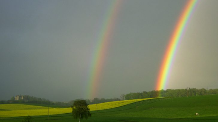 double-rainbow Image CRedit Freeimages/Guy-Claude Portmann