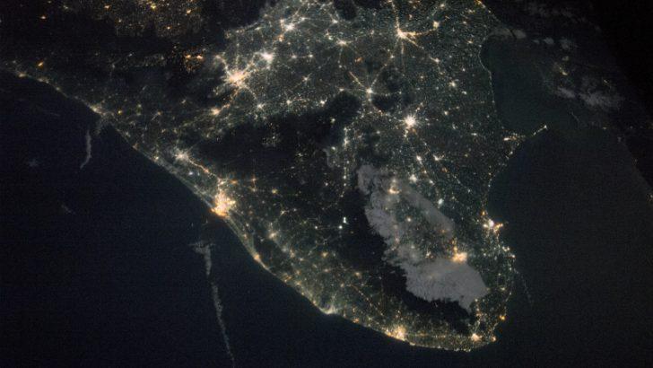 India by night (Image Credit: NASA)