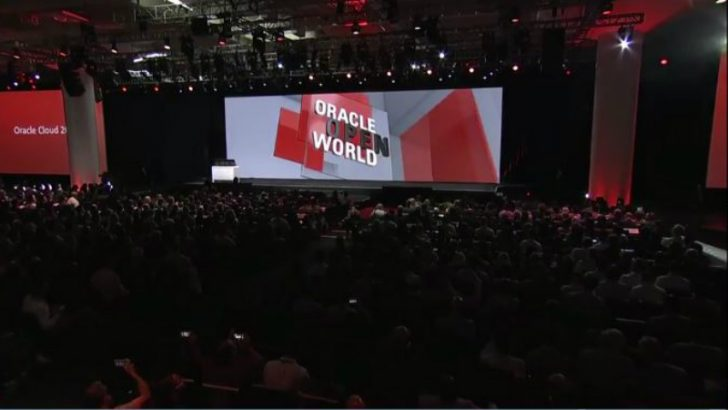 Oracle OpenWorld 2016 (Credit Oracle)