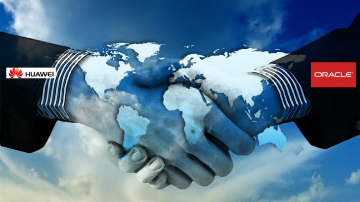 Huawei and Oracle sign cooperative agreement. (Image Source Pixabay/Geralt)