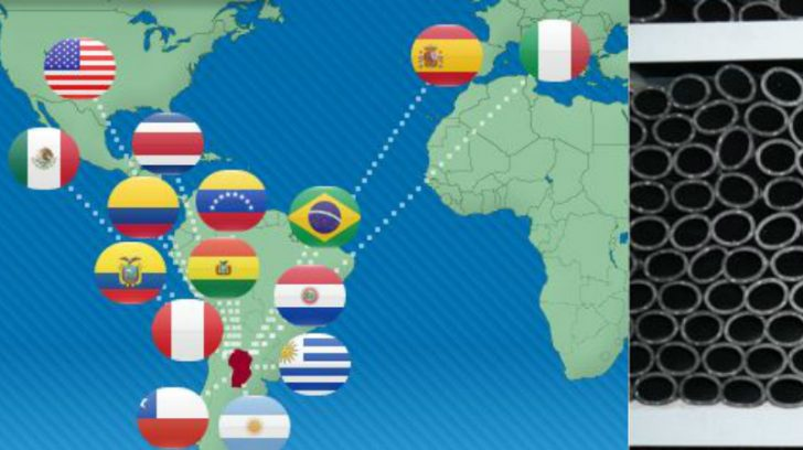 Cauplas supplies rubber hoses across the globe (IMage Source Cauplas.com)