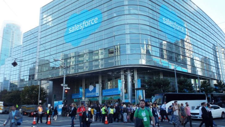 Moscone West where Dreamforce and ohana were one (Image Copyright S Brooks 2016)