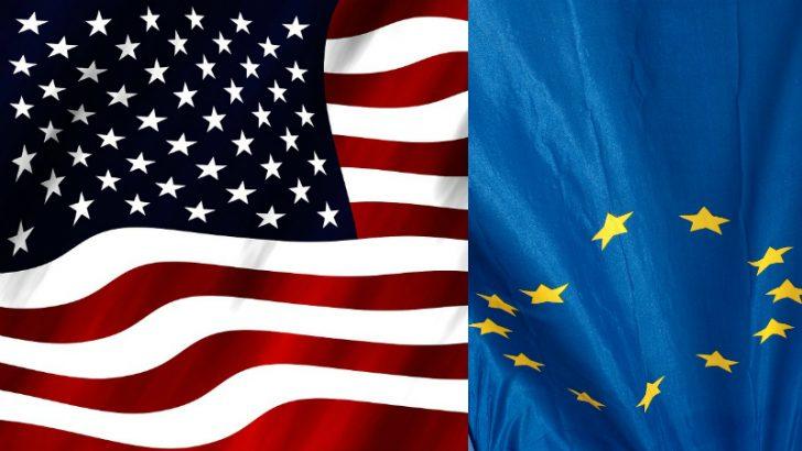 EU/USA flag Image Source Freeimages/szymon szymon and Pixabay/Geralt